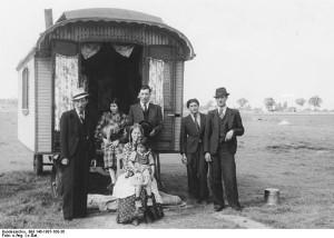 Bundesarchiv: Halle, Lagerplatz von Zigeunern