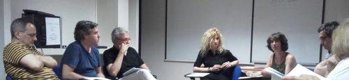 Sesión del Seminario de Historia Contemporánea, Fundación Ortega